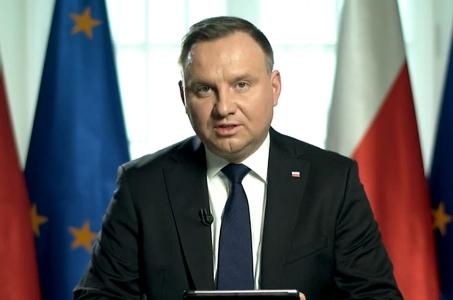 Andrzej Duda: Życie i zdrowie moich rodaków ma fundamentalne znaczenie.